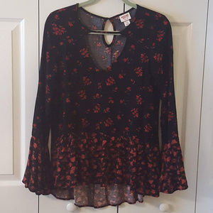 Mossimo Floral Top  0030